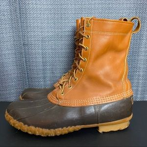 Vintage USA LL Bean Maine Hunting Shoe Duck Boots